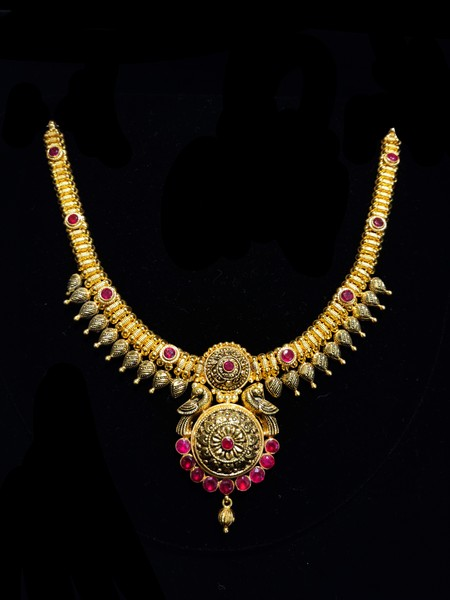 Temple  Antique Necklace #2