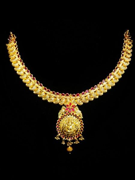 Temple Antique Necklace #4