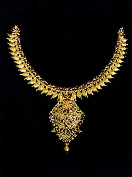 Temple Antique Necklace #6